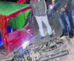 conductor estado ebriedad mototaxi pasajera Toluca