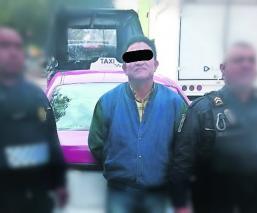 detienen a taxista que secuestraba mujer en cdmx