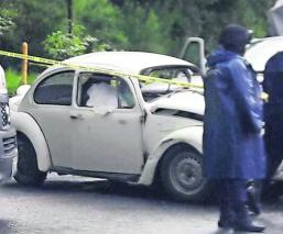 accidente automovilístico en Edomex