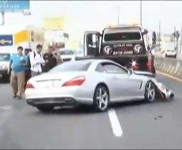 'Tuca' Ferretti sufre fuerte accidente en carretera