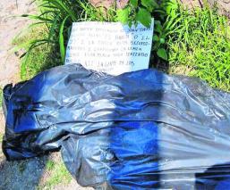 Asesinan a hombre y abandonan sus restos dentro de bolsas plásticas en Morelos