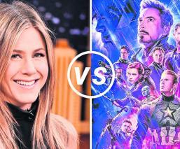Jennifer Aniston arremete contra los superhéroes de Marvel
