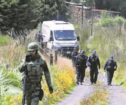 policías buscaban taladores clandestinos talamontes encuentran cadáveres muertos ejecutados maniatados turturados paraje tlalpan cdmx