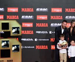 Lionel Messi recibe su sexta Bota de Oro