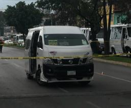 Motosicarios conductor combi Naucalpan