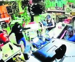 Bar Alas Chelas asalto