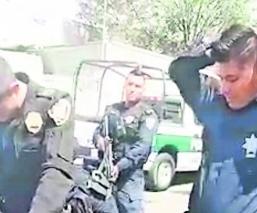 policias acusados de secuestro en México Puebla