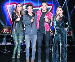 La voz kids coaches