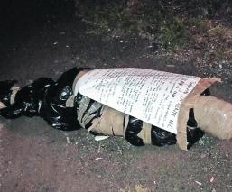 localizan presunto cadaver en chima era un muñeco