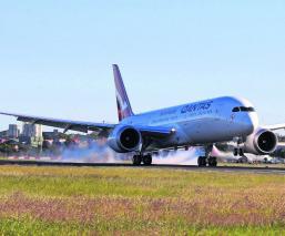 aterriza vuelo más largo nueva york sidney