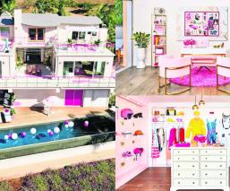 Barbie mansión Airbnb