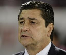 Tena durante un partido del Guadalajara