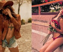 Modelo española bullying conejita Playboy