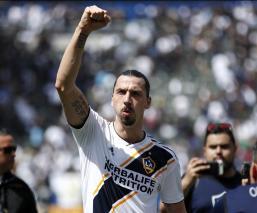 Zlatan Ibrahimovic se despide del LA Galaxy