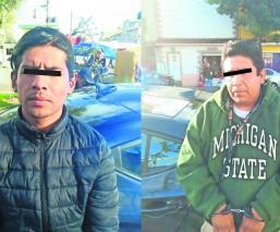 Capturan a dos hombres acusados de secuestrar a una joven en Edomex; pedían 5 mil pesos