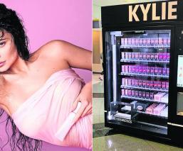 Kylie Jenner lanza nuevas máquinas expendedoras para adquirir sus cosméticos