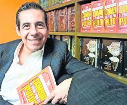 Yordi Rosado presenta su nuevo libro 'Cambia el pero por el puedo'