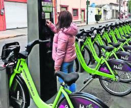 Sistema de bicicleta pública Huizi
