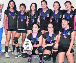 Liga Estudiantil voleibol Morelos