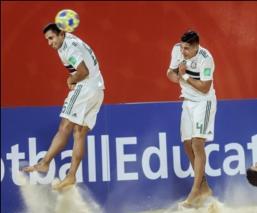 México cae ante Uruguay en el Mundial de Futbol de Playa