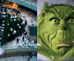 Grinch árbol Navidad Plaza Manacar