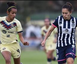 Rayadas rescata el empate ante América en semis