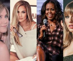 mujeres empoderamiento femenino famosas revista people jennifer aniston jennifer lópez michelle obama taylor swift