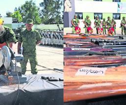 Programa de registro y canje de armas Sedena