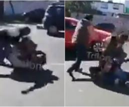 modus operandi asaltantes extorsionadores no se deja asaltar golpiza automovilista tlalpan video