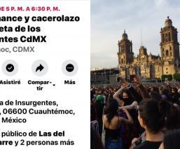 un violador en tu camino feminista insurgentes ciudad de mexico