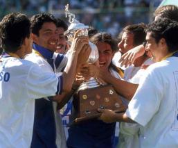 Cruz Azul levanta su último título de liga hace 22 años