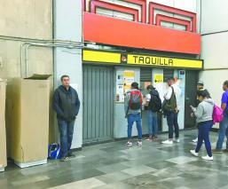 maquinas de recaga CDMX Metro