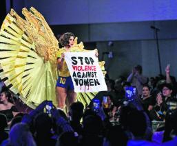 miss universo 2019 miss brasil protesta violencia contra la mujer