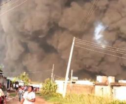 explosión cura nigeria