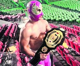 Halcón Suriano Jr no se rinde y busca alcanzar el estrellato en el CMLL