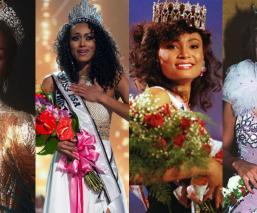 miss universo mujeres morenas raza negra reinas de belleza