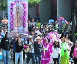 Peregrinos Basílica de Guadalupe alcoholímetro