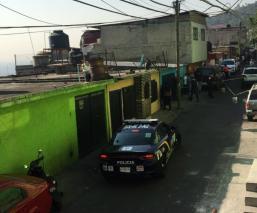 asaltante muere balas arma silenciador roban casa gam