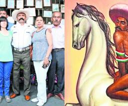 Emiliano Zapata pintura gay