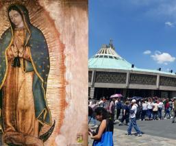 Basílica de Guadalupe aparición Virgen