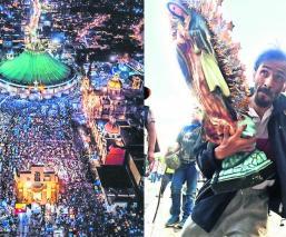 Basílica de Guadalupe peregrinación guadalupanos