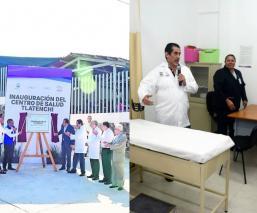 Cuauhtémoc Blanco Centro de Salud de Tlatenchi