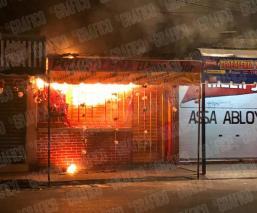 De madrugada Pollos se rostizan solos tras registrarse incendio en local de Iztapalapa