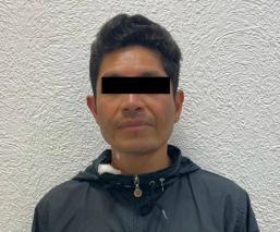 Detienen a Édgar Rafael, presunto feminicida que asesinó a maestra de danza en Edomex