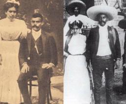 Emiliano Zapata árbol genealógico