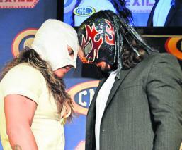 Príncipe Diamante y Espíritu Negro apostarán sus máscaras en la Arena México