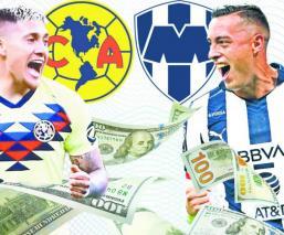 América contra Monterrey Apertura 2019
