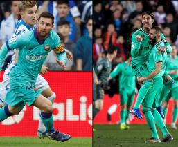 Barcelona y Real Madrid se enfrentarán en el Camp Nou
