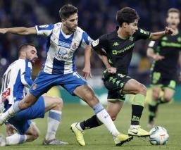 Lainez suma minutos en empate del Betis ante Espanyol