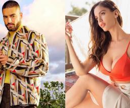 Se cogen cariño: Maluma manda emotivo mensajito a su ex Natalia Barulich